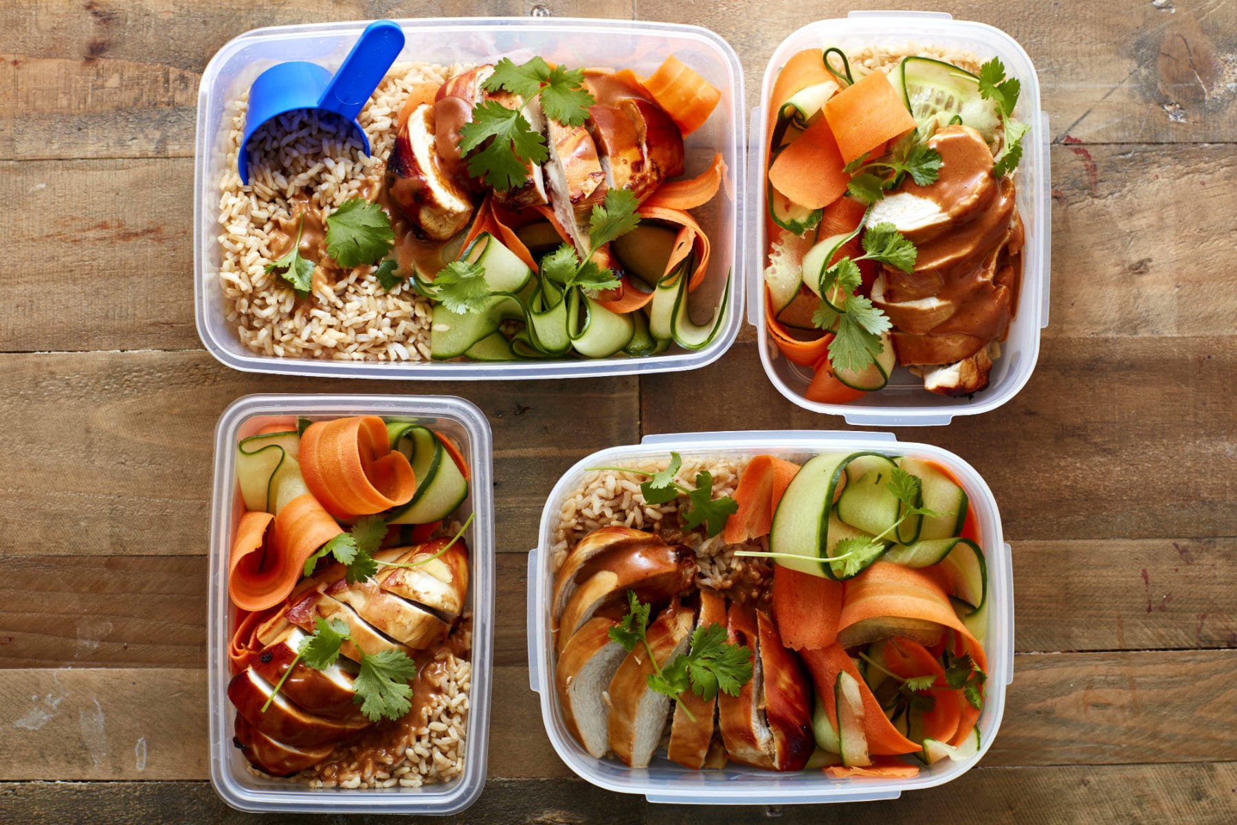 Easy Meal Prep Idea | Asian Peanut Butter Sesame Chicken