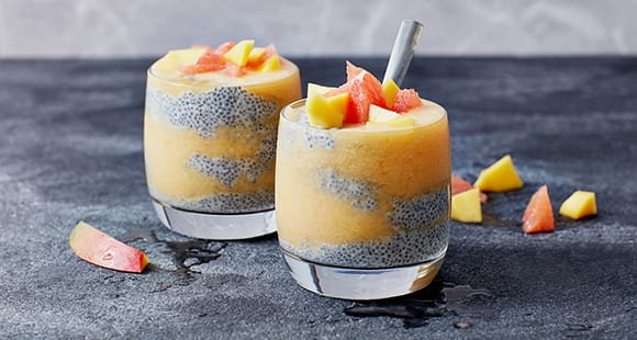 Summer Recipe | Mango and Blood Orange Chia Pudding