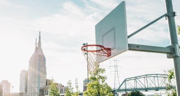 basketball scenery