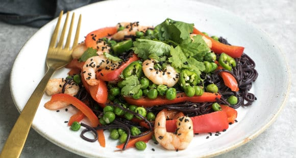 King Prawn & Buckwheat Noodle Stir-Fry