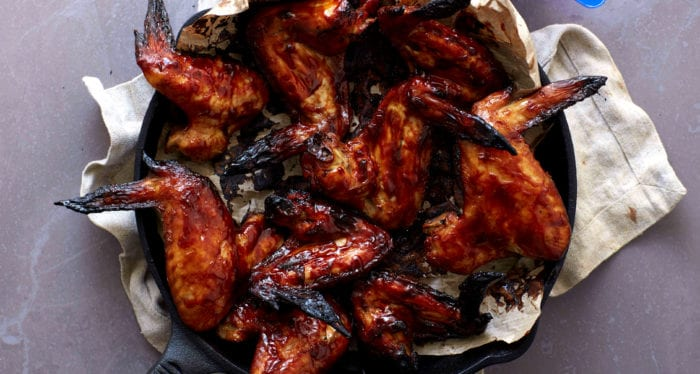 Barbecue Maple-Lime Chicken Wings | Cheat Day Recipe