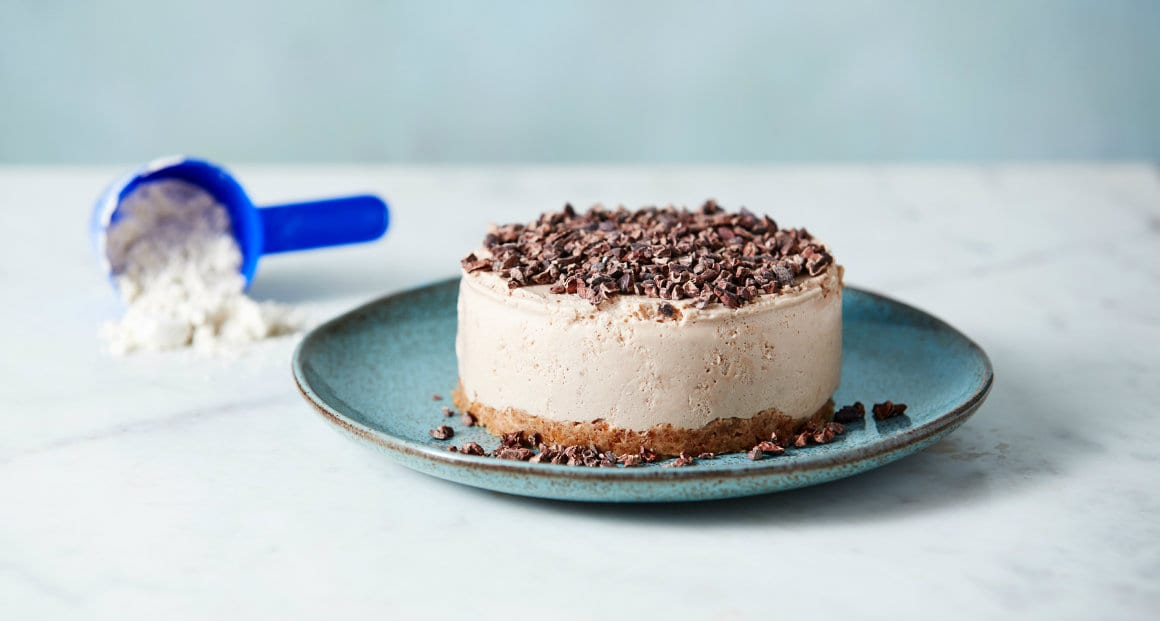 Protein Cheesecake Recipe | Ridiculously Low Calorie Cheesecake