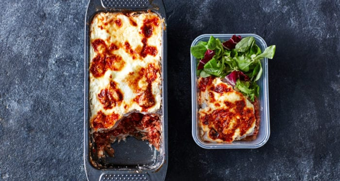 Loaf Tin Lasagne | 4-Day High-Protein Meal Prep