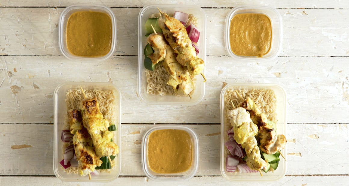 3-Day Chicken Meal Prep Recipe | Malaysian Chicken Satay