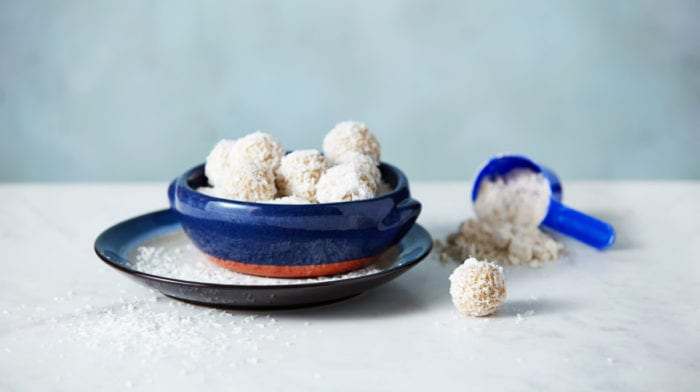 Coconut Protein Balls | Healthy Protein Snacks