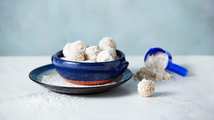 Coconut Protein Balls | Healthy Protein Snacks