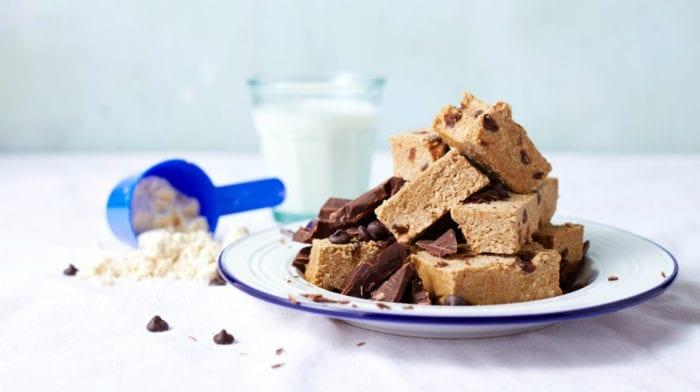 Vegan Protein Bar Recipe | 15-Minute Cookie Dough Protein Bars