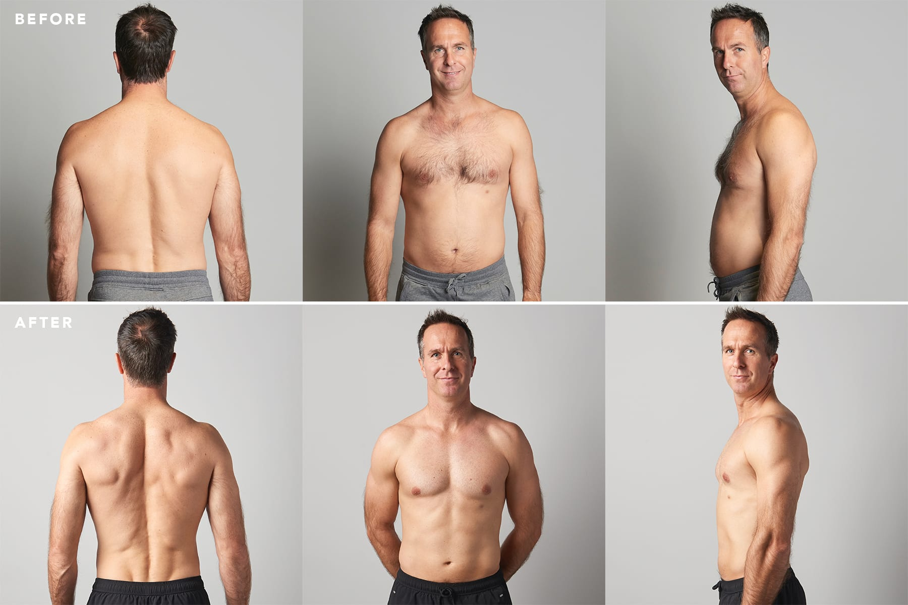 Michael Vaughan's 12 Week Body Transformation with Myprotein