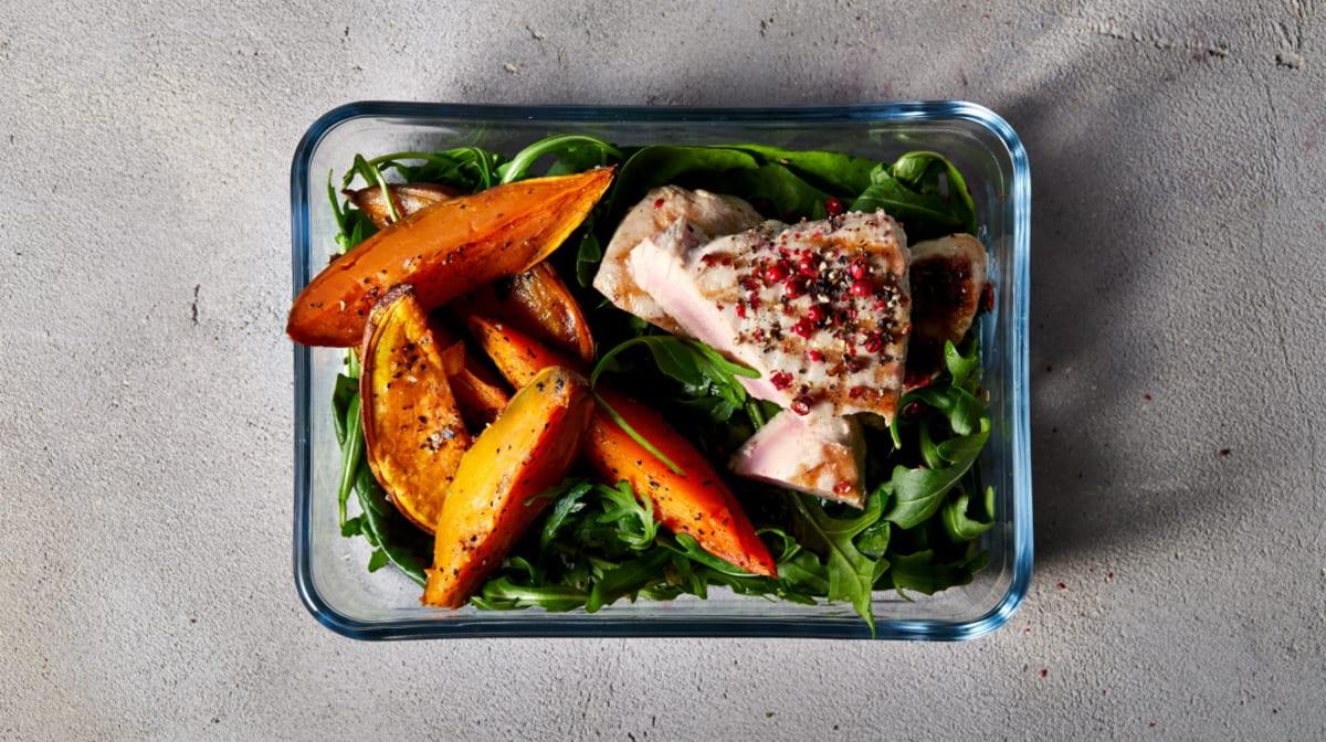 healthy meal prep diet