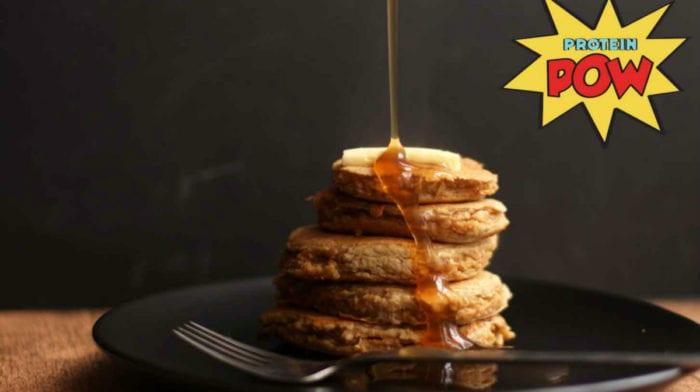 Vegan Quinoa Protein Pancakes | Protein Pow