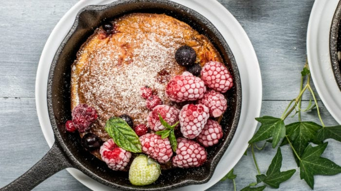 Protein Dutch Baby | The Ultimate Protein Pancake Recipe