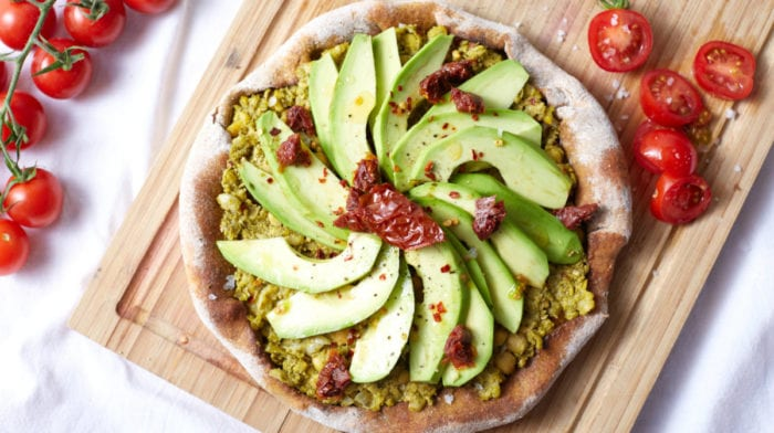 Avocado-Toast Pizza | 15-Minute Vegan Pizza