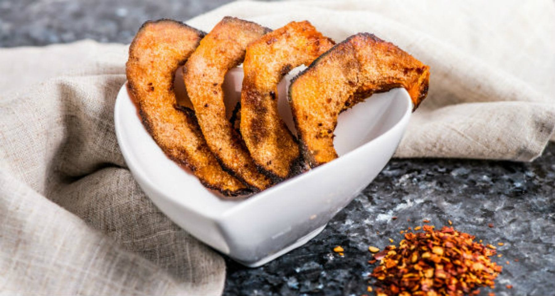 butterbut squash wedges