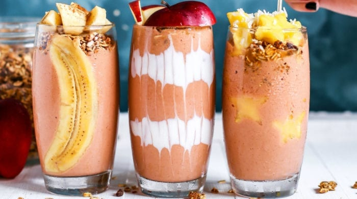 The Perfect Fruity Protein Breakfast Smoothie