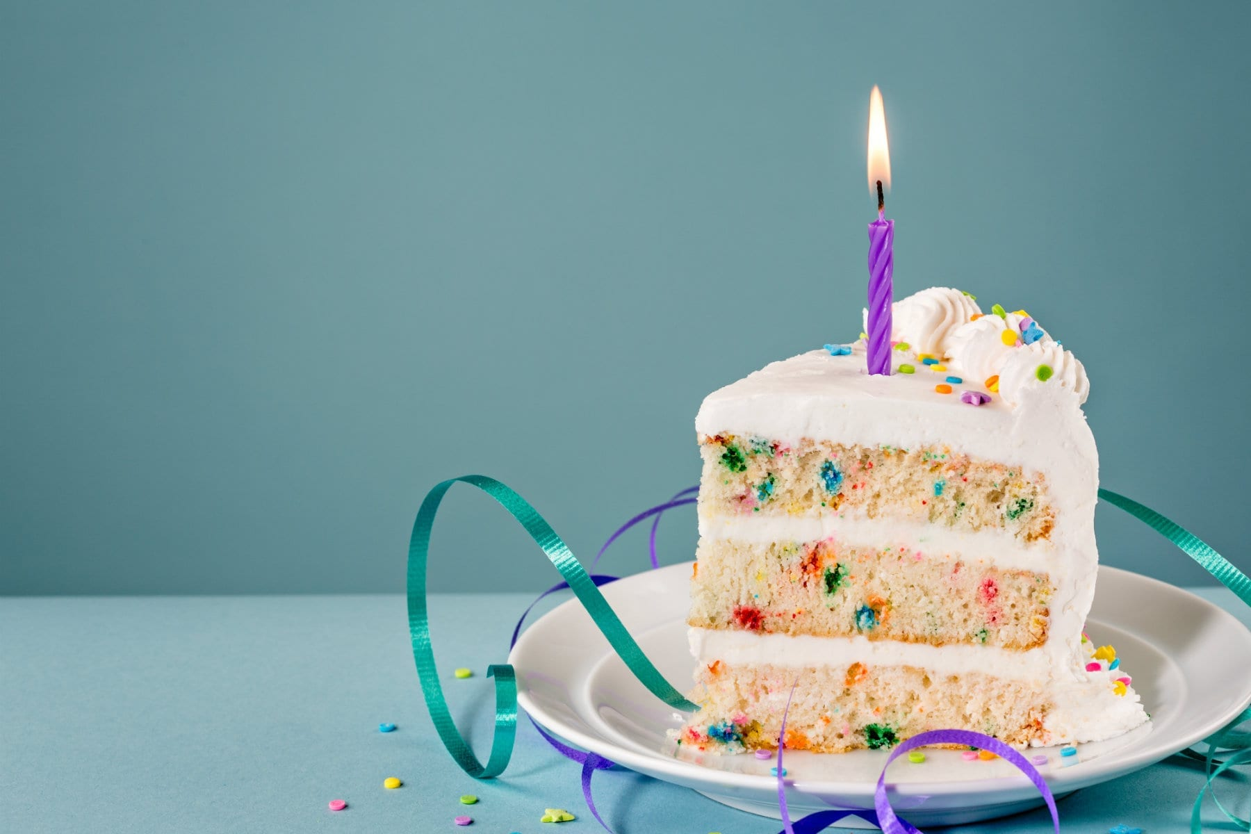 Ultimate Funfetti Protein Birthday Cake