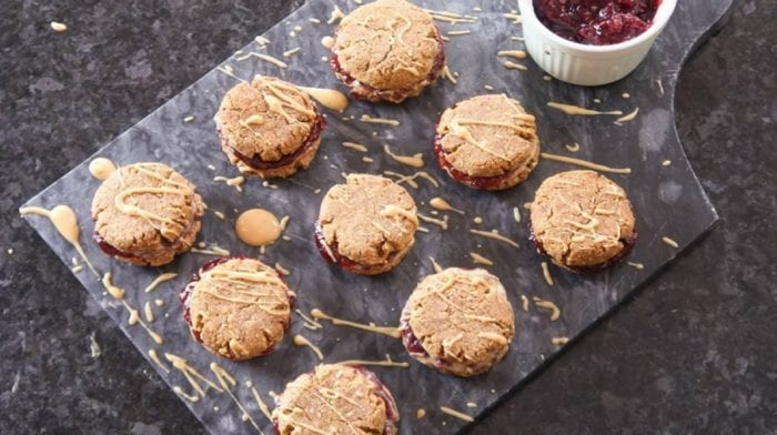 Niall's Peanut Butter & Jelly Protein Cookies