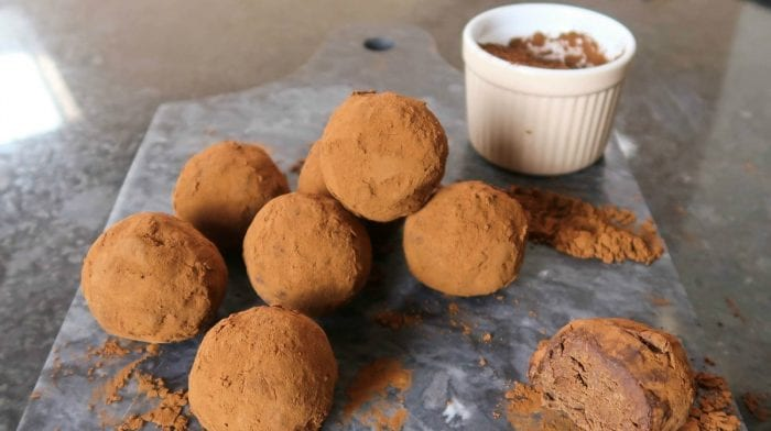 Delicious Dairy-Free Protein Truffles