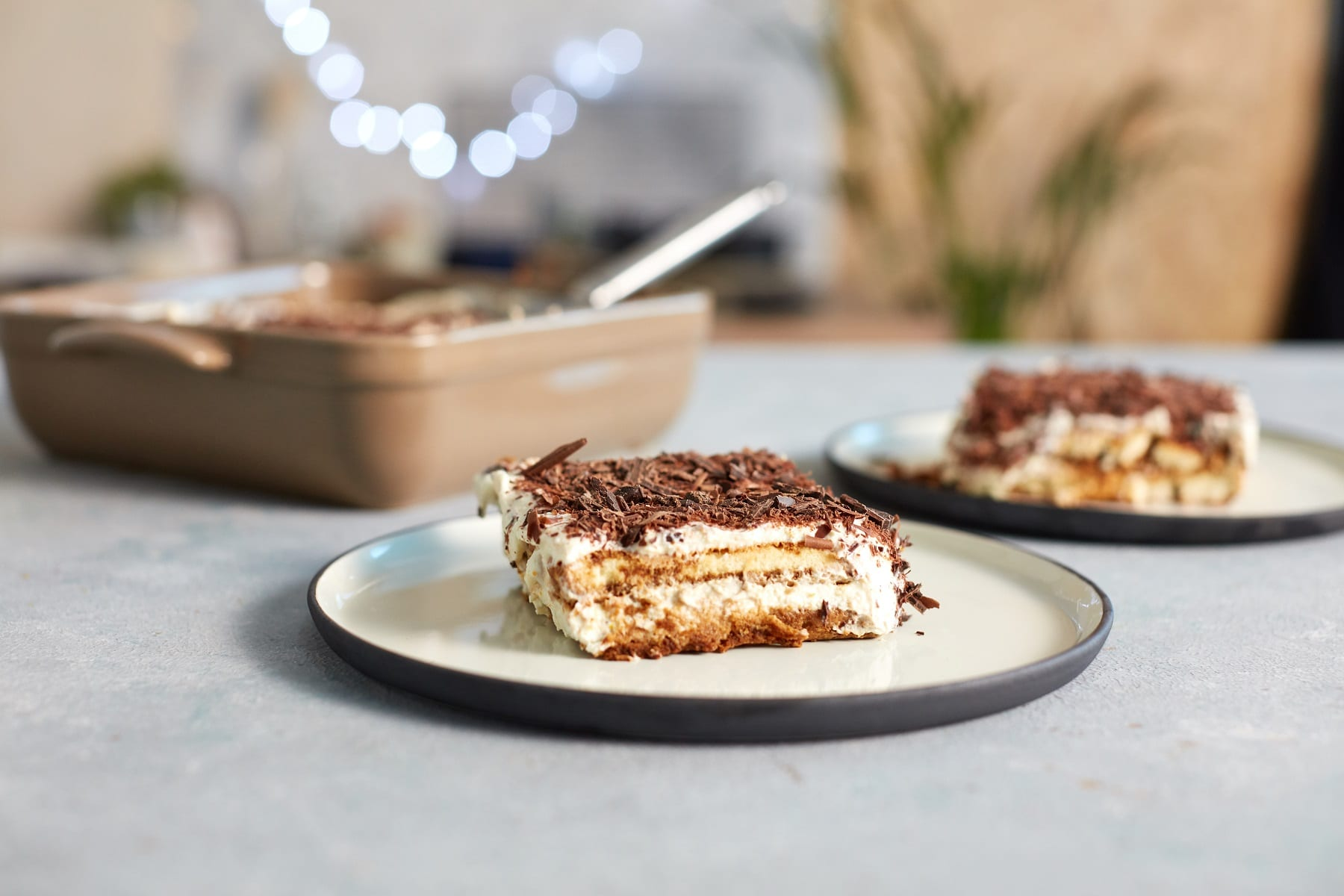 Good-For-You Christmas Tiramisu