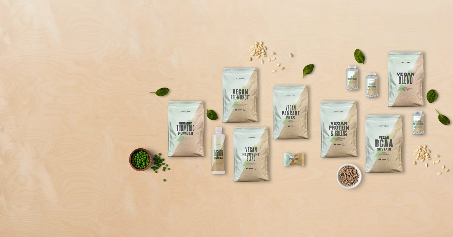 Powered By Nature | Introducing Our New Vegan Range