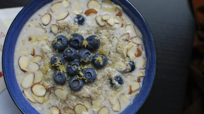 Apple Pie Protein Porridge