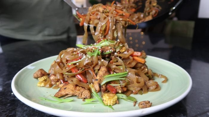 Low Carb Noodles Meal | Chicken Chow Mein Recipe