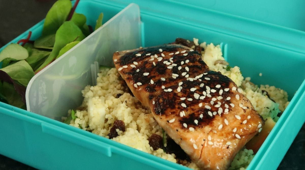 Salmon Meal Prep Two Ways With A Couscous Salad