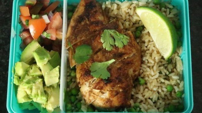 Jerk Chicken Meal Prep Box | Spice Up Your Lunch Break