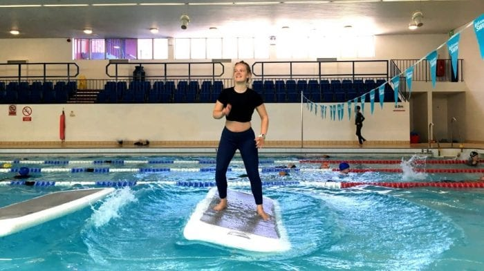 We Tried A Floating HIIT Session, This Is How It Went…
