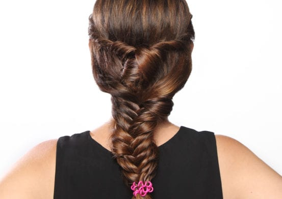 Olympic-Inspired Hair In 10 Minutes