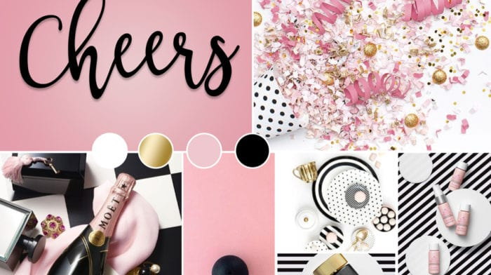 December Mood Board: Cheers to you!
