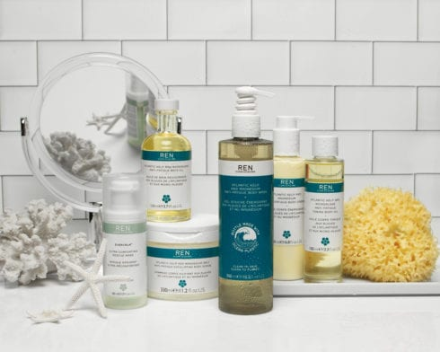 Ren Clean Skincare ‐ Clean Your Face, Clean the World