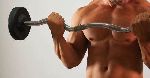 Bicepsz edzés - Bicepszhajlítás rúddal