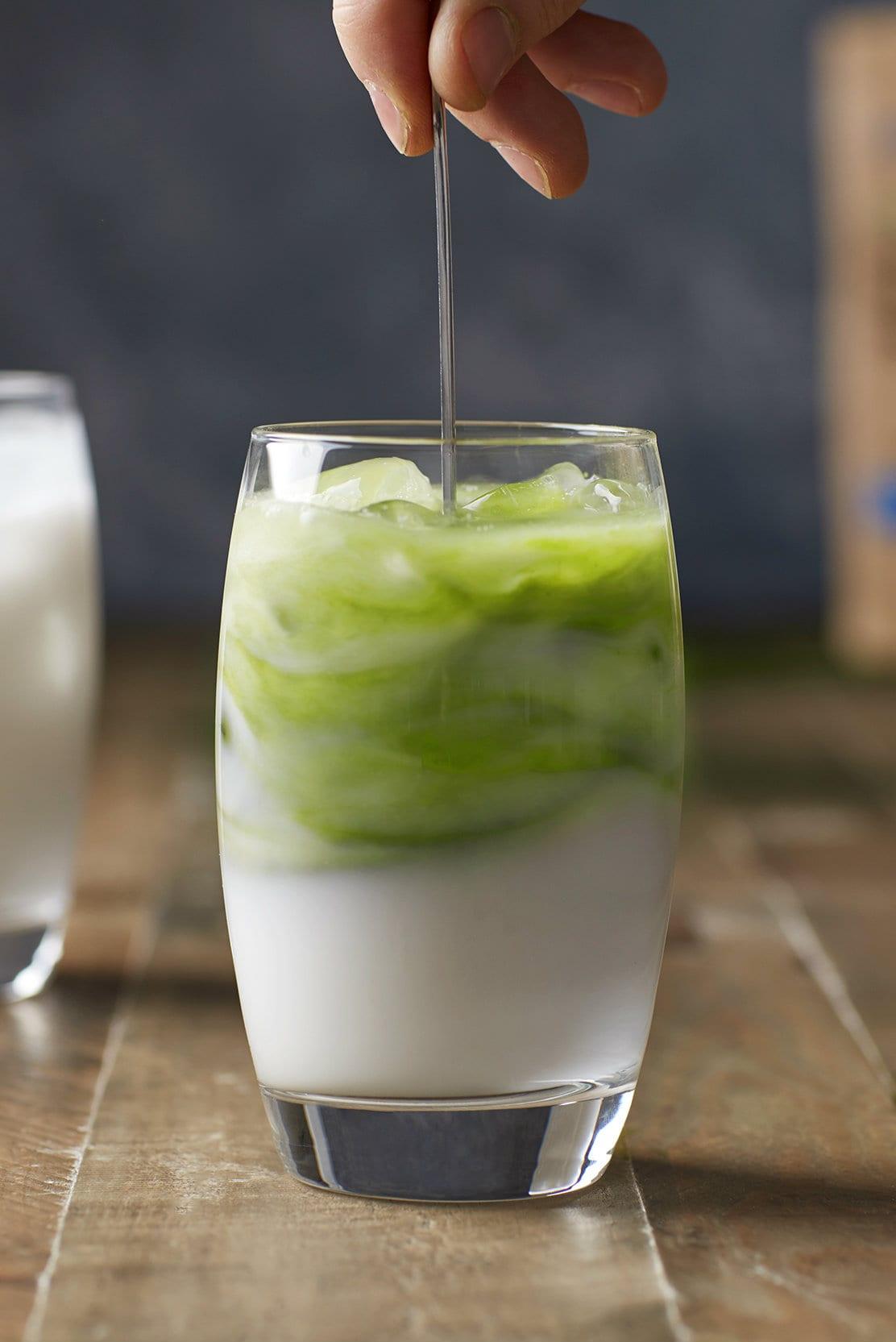 Matcha latte recept