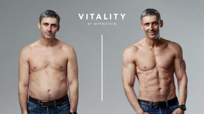 Ben Jackson edzésterve | Testátalakulás a Myprotein Vitality termékek segítségével