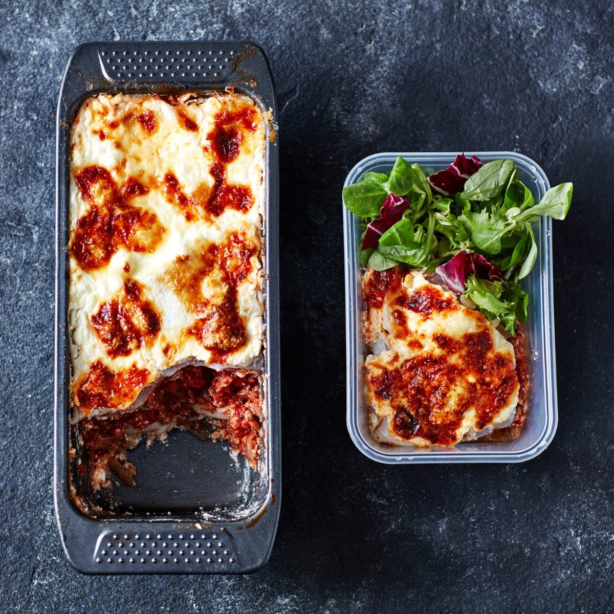 Alacsony szénhidráttartalmú lasagne