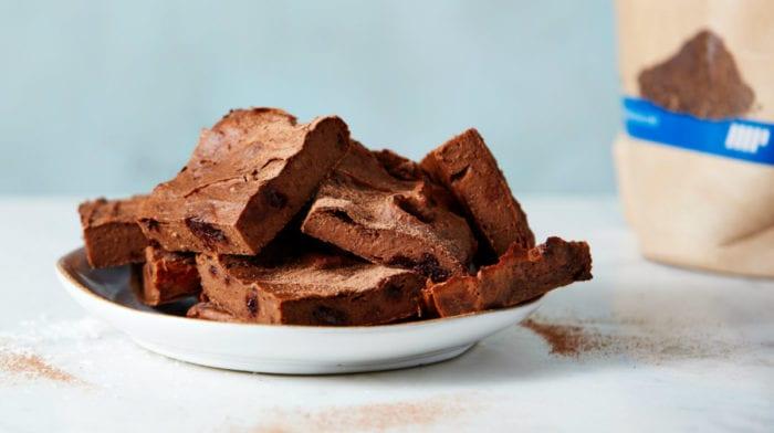 Édesburgonyás fehérjés brownie