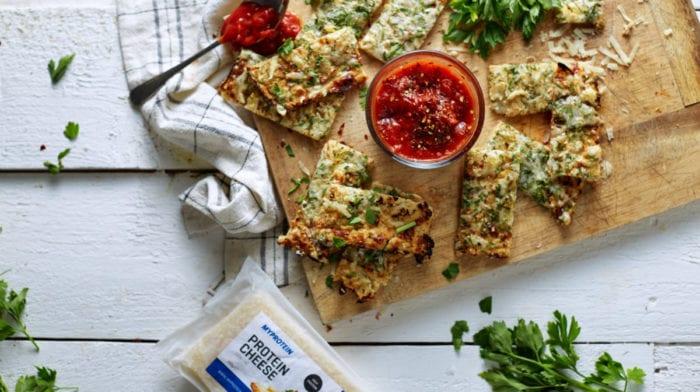 Karfiolos-fokhagymás kenyér | Alacsony szénhidrátos recept