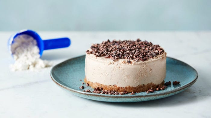 Fehérje sajttorta recept | Nevetségesen alacsony kalóriatartalmú sajttorta