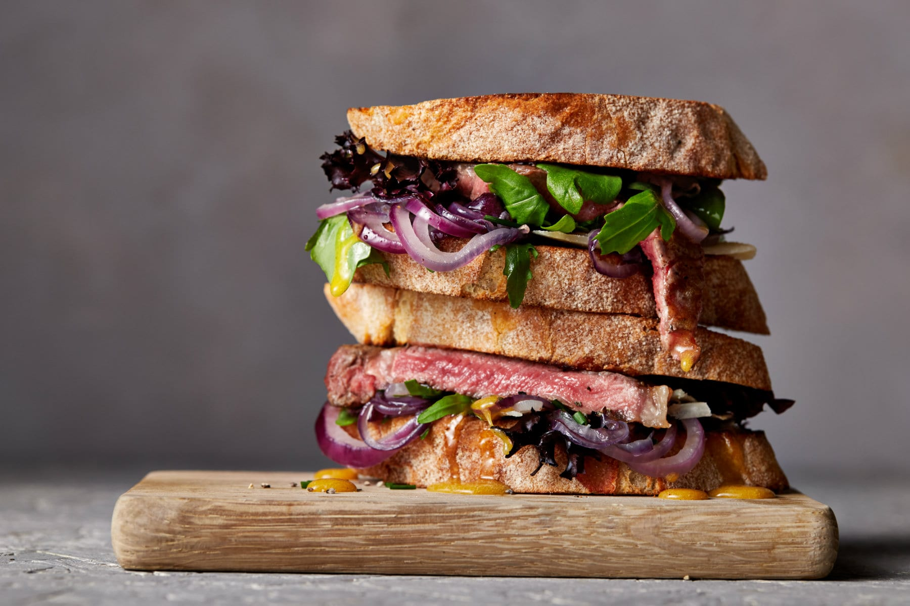 Steak szendvics