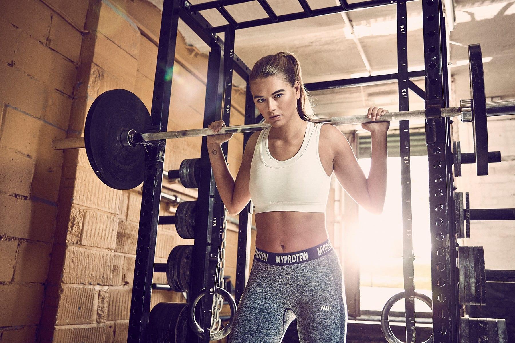 Súlyzós edzés nőknek