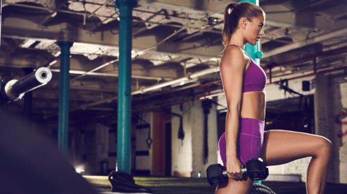 Súlyzós edzés nőknek II.rész | Láb edzés