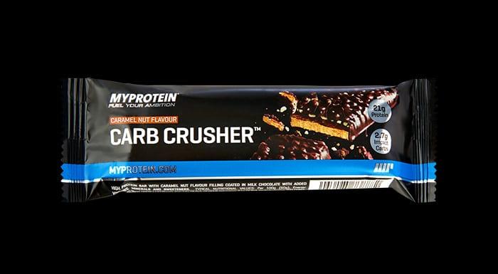 Carb Crusher protein szelet karamell mogyoró