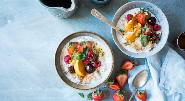 Egészséges táplálkozás és életmód, reggeli