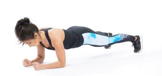 Általános standard plank gyakorlat