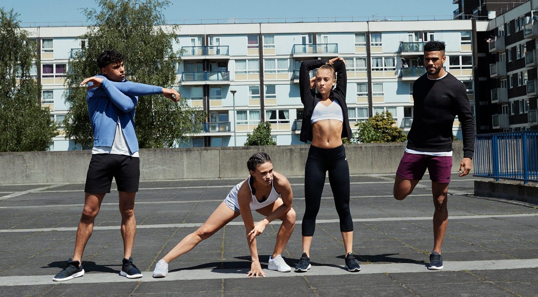 szabadtéri edzés
