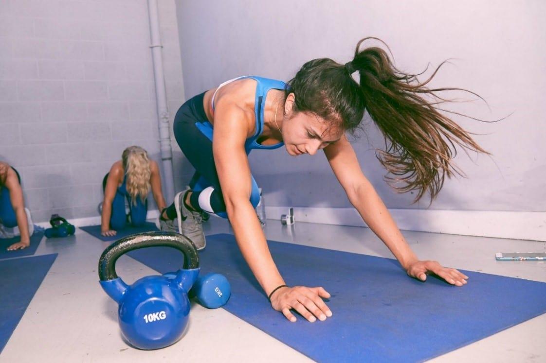 plank gyakorlat edzés