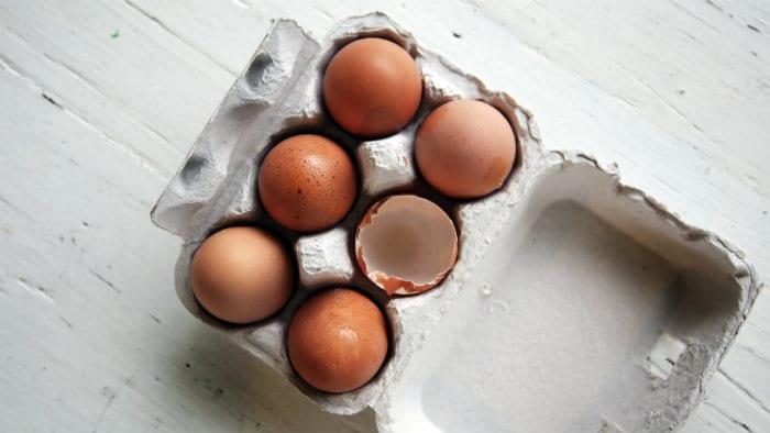 Főtt tojás edzés után