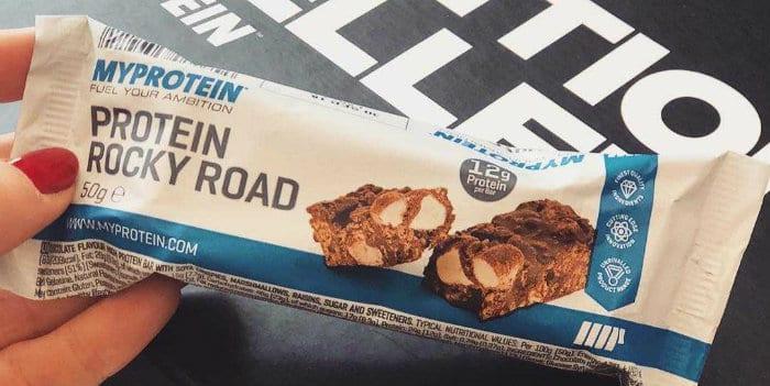 Protein Rocky Road fehérjeszelet