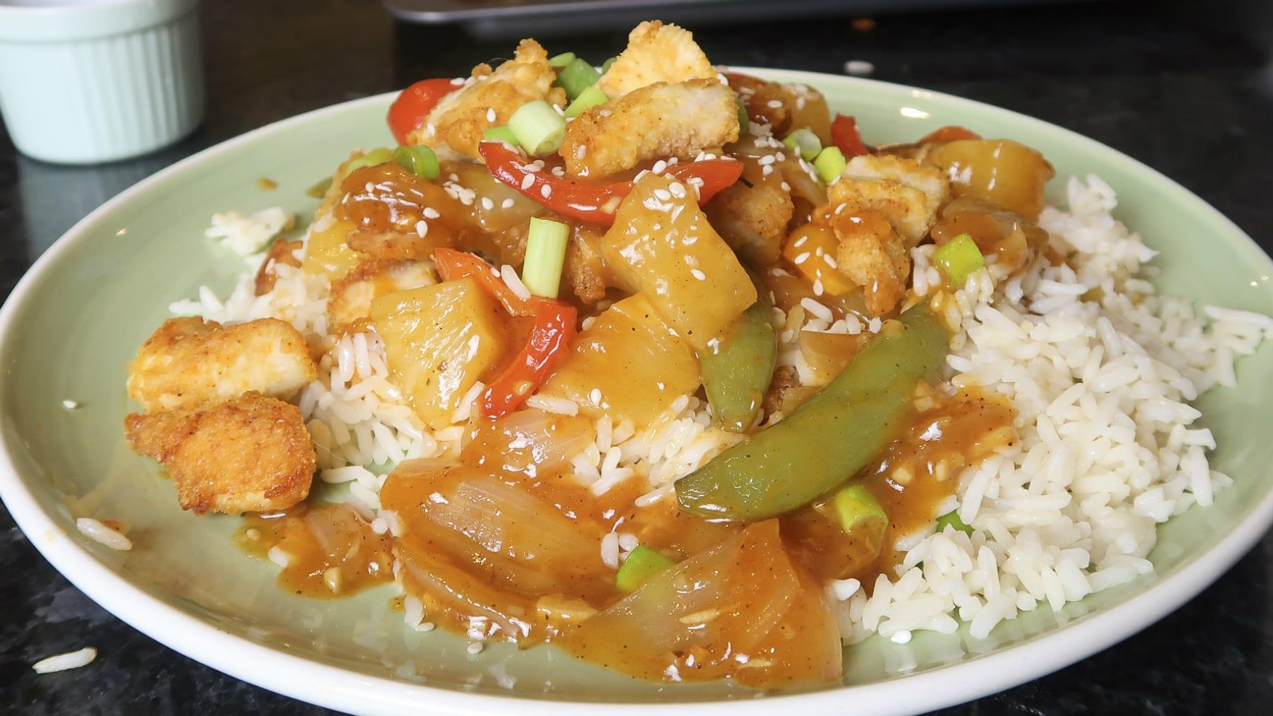 kínai édes-savanyú csirke recept