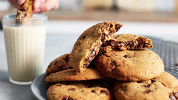 Mogyoróvajjal töltött fehérje süti, cookie recept